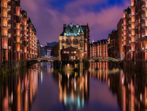 ◇◎ハンブルク:夜の倉庫街