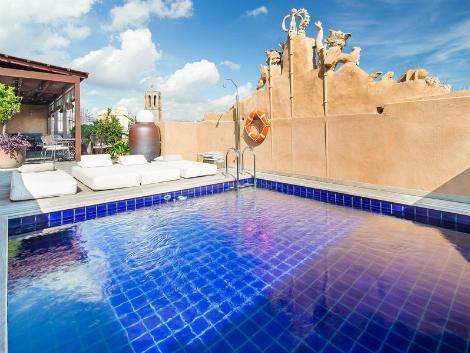 バルセロナ:ホテル ド プラサ レイアル プール
