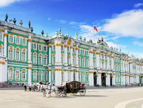 ◇◎サンクトペテルブルク:エルミタージュ美術館(冬宮殿)