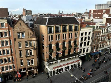アムステルダム:ホテル アムステルダム-デ ローデ レーウ 外観