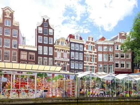 ◇◎アムステルダム:シンゲル運河の花市
