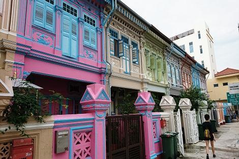シンガポール:プラナカン建築が残るカトン地区
