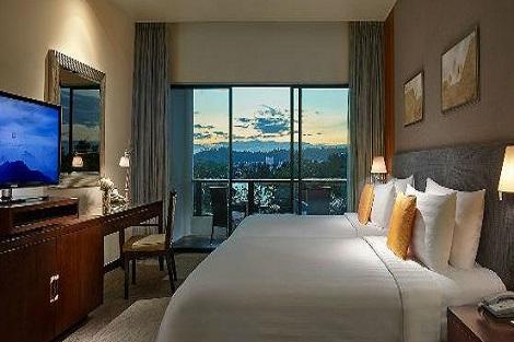 コタキナバル:シャングリラズ タンジュン アル リゾート アンド スパ 客室一例