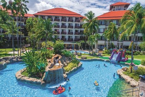 コタキナバル:マジェラン ステラ リゾート プール
