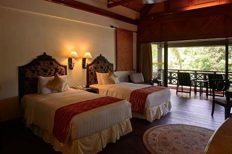 コタキナバル:ネクサス リゾート & スパ カランブナイ 客室一例