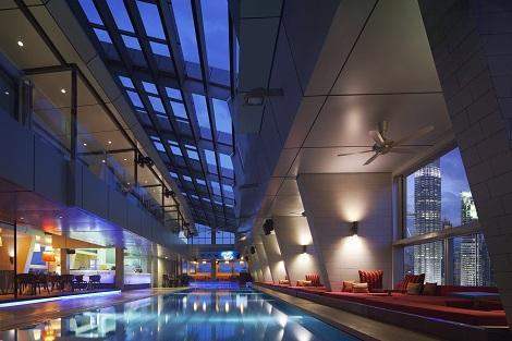 クアラルンプール:トレーダース ホテル スカイバー