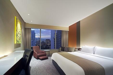 クアラルンプール:トレーダース ホテル 客室一例