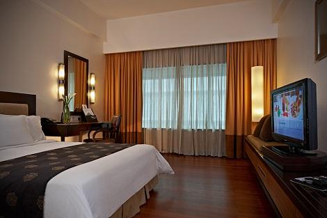 クアラルンプール:インピアナ ホテル 客室一例