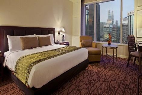 クアラルンプール:ホテル イスタナ 客室一例