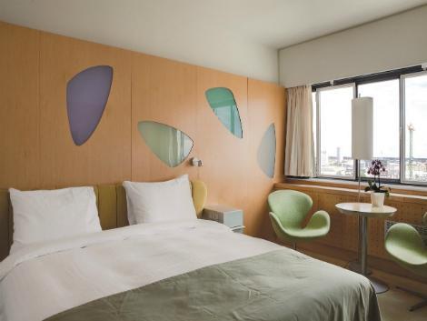 コペンハーゲン:ラディソン ブル ロイヤル 客室一例