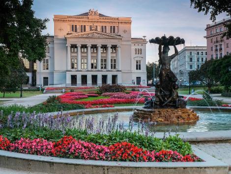 ◇◎リガ:ラトビア国立歌劇場