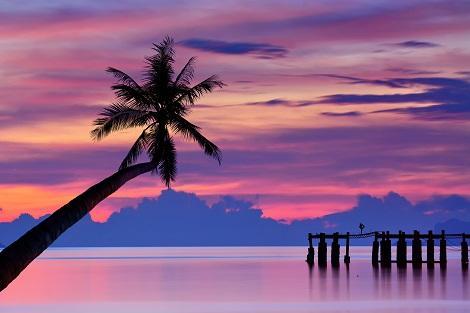 サムイ島:サンセット