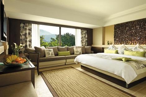 ペナン島:ゴールデン サンズ リゾート バイ シャングリラ 客室一例