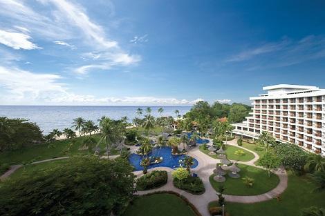 ペナン島:ゴールデン サンズ リゾート バイ シャングリラ 全景