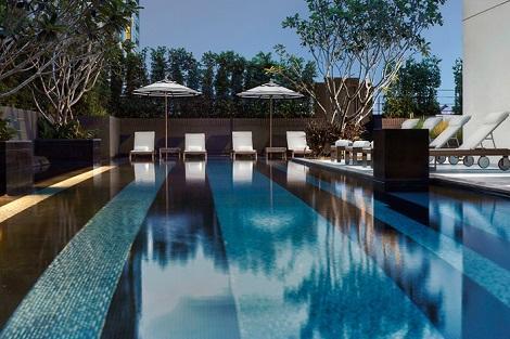 バンコク:モーベンピック ホテル スクンビット 15 プール