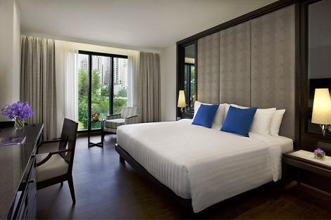バンコク:モーベンピック ホテル スクンビット 15 客室一例