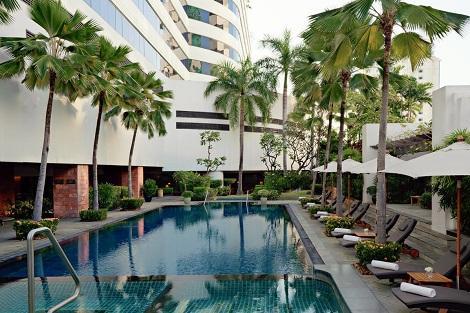 バンコク:JWマリオット ホテル バンコク プール