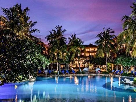 ホテル ニッコー バリ べノア ビーチ プール イメージ