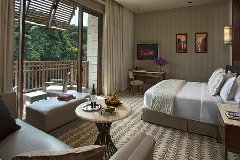 セントーサ島:エクアリアス ホテル 客室一例