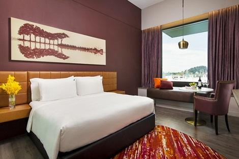 セントーサ島:ハード ロック ホテル シンガポール 客室一例