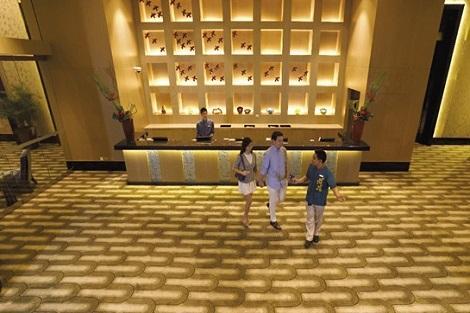 セントーサ島:ホテル マイケル ロビー