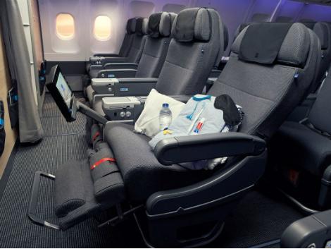 スカンジナビア航空:プレミアムエコノミークラス