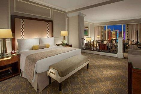 マカオ:ヴェネチアン マカオ リゾート ホテル 客室一例