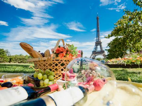 ◇パリ:エッフェル塔とワイン