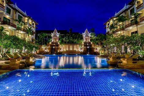ソカ アンコール リゾート ホテル プール
