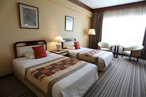 チェンマイプラザホテル 客室一例