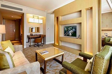 シンガポール:マリーナベイサンズ Orchid Suite City View 客室一例/提供:Marina Bay Sands