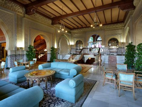 グラナダ:ホテル アルハンブラ パレス ロビー