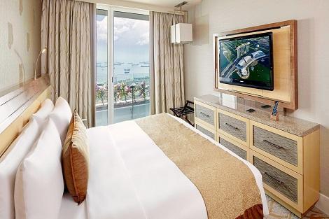 シンガポール:マリーナベイサンズ Family Room 2-Bedroom 客室一例/提供:Marina Bay Sands