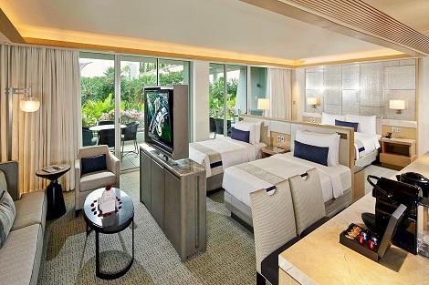 シンガポール:マリーナベイサンズ Family Studio 客室一例/提供:Marina Bay Sands