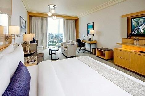 シンガポール:マリーナベイサンズ Premier Sky View 客室一例/提供:Marina Bay Sands