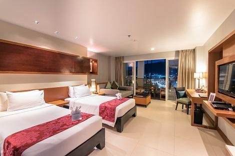 プーケット:アシュリー ハブ ホテル パトン 客室一例