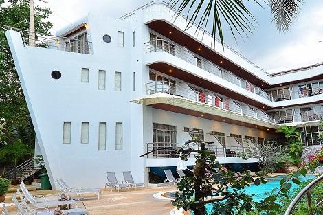 サムイ島:サムイ ファースト ホテル 外観