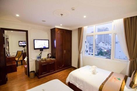 ダナン:オレンジホテル ファミリールーム 客室一例