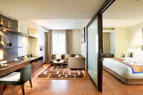 バンコク:グランド スクンビット ホテル バンコク  デラックススイートルーム