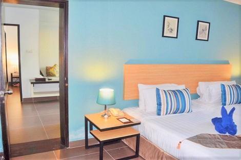 パタヤ:ヴォーグ パタヤ ホテル ファミリースイート 客室一例