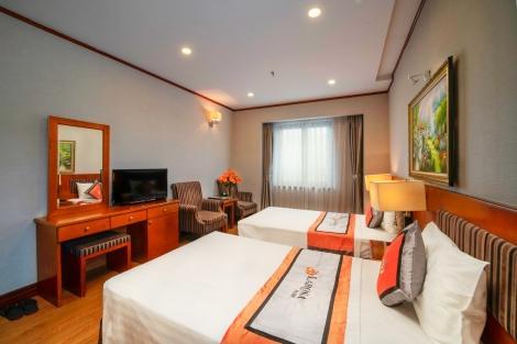 ハノイ ラロサ ホテル 客室一例