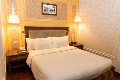 ハノイ パール ホテル:レトロ感のある客室
