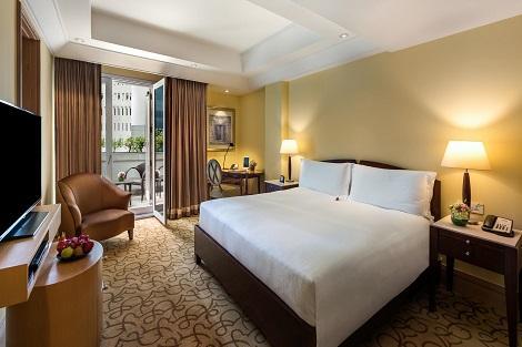 シンガポール:ザ フラートン ホテル シンガポール  Postmaster Room 客室一例