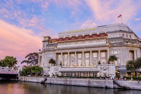 シンガポール:ザ フラートン ホテル シンガポール 外観