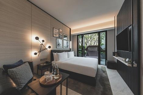 セントーサ島:ザ アウトポスト ホテル アット セントーサ 客室一例