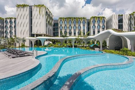 セントーサ島:ヴィレッジホテルセントーサ 4種類のプール