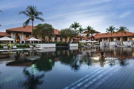 セントーサ島:ソフィテル シンガポール セントーサ リゾート & スパ プール