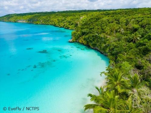 綺麗な海と大自然残るリフー島