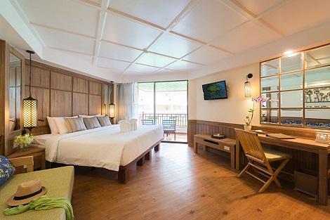 プーケット:カタタニ プーケット ビーチ リゾート 客室一例