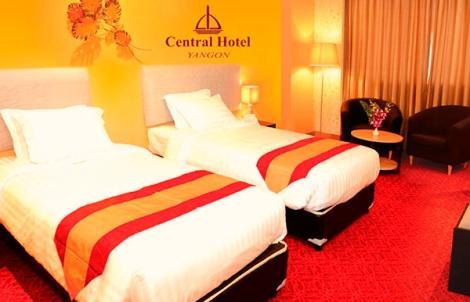 ヤンゴン:セントラル ホテル ヤンゴン 客室イメージ